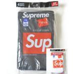Supreme/Hanes Boxer Briefs (4Pack) シュプリームxへインズ ボクサーパンツ ブリーフ 4枚入り 全2色