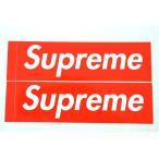 2枚セット 定番★Supreme シュプリーム ステッカー ボックスロゴ box logo sticker