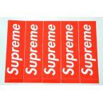 5枚セット 定番★Supreme シュプリーム ステッカー ボックスロゴ box logo sticker