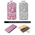 トミトエイチ Tome2H  PUSHIM iフォンケース iphone 6 6S スマホ 携帯 レディース PAISLEY ALUMINUM iPhone CASE -2.COLOR- -Lady's-