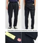 リライタブル Rewritable リメイクスタンダードパンツ ワークパンツ RED KAP シンプル 黒/ブラック メンズ REMAKE STANDARD PANTS -BLACK-
