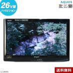 中古/欠品あり SHARP 液晶テレビ AQUOS 26V型 (ブラック系/2011年製) LC-26V5 LEDバックライト☆386v16