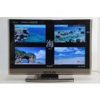 中古 SHARP AQUOS ハイビジョン液晶テレビ26V型 LC-26DV7 リモコン欠品★909v28