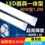 LED蛍光灯器具一体型蛍光灯 40W形 LEDベースライト 120cm 昼光色 6000K 消費電力36W