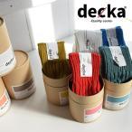 靴下 レディース decka デカ 日本製 ローゲージ リブ ソックス ギフト プレゼント...
