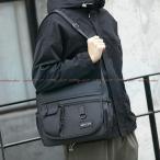 メッセンジャーバッグ メンズ 日本ファッションブランド カジュアル キャンバスバッグ ショルダーバッグ 学生 大容量 クロスボディバック