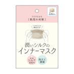 潤いシルクのインナーマスク(マスク/洗える マスクインナー シルク マスクフィルター マスクライナー/4528870424482)