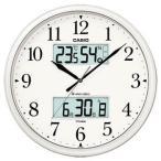カシオ(CASIO) 壁掛け時計 パールシルバー 電波時計 ITM-660NJ-8JF