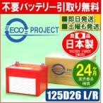 125D26L/125D26R エコプロジェクトバッテリー(2年補償) 原材:エネオス ビクトリーフォース(ENEOS VICTORY FORCE)