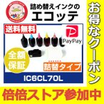 IC6CL70 IC6CL70L IC70 IC70L 用 エプソン 詰め替えインク リセッター 付 ビギナーセット EP-306 EP-706A EP-775A EP-775AW EP-805AR
