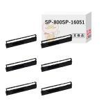 ショッピングドット セイコー用 汎用インクリボンカセット SP-800 SP-16051 黒 6個 SEIKO PR-002 SL-80MK SP-800 SP-800F SP-800MK SP1000AP AP2000 SP2000AI カートリッジ 日本製