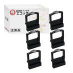 ショッピングドット 日立用 汎用インクリボンカセット PD3070 169238 黒 6個 HITACHI PCPD3070 PCPD3070A PCPD3070AH PCPD3071 PCPD3071F IMPACTSTAR SS070 カートリッジ 日本製