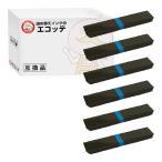DPK24E OAR-FM-1S 0322510 D30L-9001-0253 富士通 用 汎用サブリボン 黒 6個 FMPR351 FMPR352 FMPR356 FMPR356F FMPR359 FMPR451 ドットインパクトプリンタ