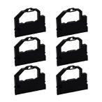 PC-PR201G-01 EF1297B OAR-NE-18 NEC 用 汎用インクリボンカセット 黒 6個 PC-PR101G PC-PR101G2 PC-PR101/63 PC-PR201G PC-PR201GS ラウンド型プリンタ