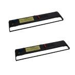 SDM-6 0325250 CA90002-0030 富士通 用 汎用インクリボンカセット 黒 2個 FMPR371 FMPR371A FMPR376 FMPR5300 FMPR5300E ドットインパクトプリンタ