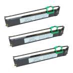 SDM-9 0325470 CA05463-D801 富士通 用 汎用インクリボンカセット 黒 3個 FMPR5310E FMPR5310EG FMPR5400 ドットインパクトプリンタ