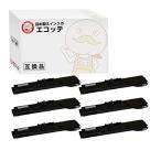 ショッピングドット VP5150RP OAR-EP-46S エプソン 用 汎用サブリボン 黒 6個 VP-5150F VP-6000 VP-6200 VP-6200N
