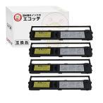 DPK24E OAR-FM-1S 0322310 D30L-9001-0253 オリベッティ 用 汎用インクリボンカセット 黒 4個 PR-1543