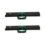 SDM-9 0325480 富士通 用 汎用サブリボン 黒 2個 FMPR5310E FMPR5310EG FMPR5400 FMPR5410 ドットインパクトプリンタ