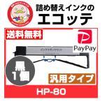 ショッピングドット HP-80 FMPR-601 FUJITSU 富士通 インクリボンカセット 黒 1個 漢字水平プリンタ