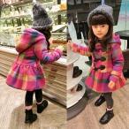 韓国子供服 キッズコート 子供用 ワンピースジャケット 裏起毛ダウンコート 綿入り 長袖 冬物 フード付き 女の子 フリース もこもこ 秋冬物 ジュ