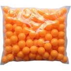 エデン 大容量 100個 レジャー用 ピンポン玉 (オレンジ or 白 )ロゴ無し 無地 (実技用には不向き)
