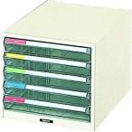 あすつく対応 「直送」 【個数:1個】 トラスコ TRUSCO TB4-5P プラスチックB4レターケース浅型5段 TB45P 278-2405
