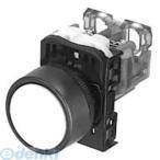 富士電機 AR22F0R-20B 押しボタンスイッチ AR22シリーズ  黒 AR22F0R20B