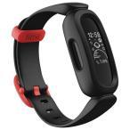 Fitbit フィットネストラッカー お子様向け ブラック×スポーツレッド FB419BKRD-FRCJK [FB419BKRDFRCJK]