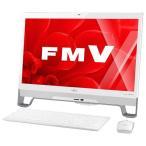 富士通 一体型デスクトップパソコン スノーホワイト FMVF53YWG [FMVF53YWG]