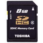 東芝 SDHCメモリーカード(Class4対応・8GB) SD-L008G4 [SDL008G4]