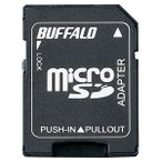 BUFFALO microSDカード→SDカード変換アダプター BSCRMSDA [BSCRMSDA]