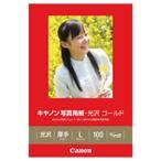 ショッピング写真 キヤノン 写真用紙・光沢 ゴールド GL-101L100 [GL101L100]