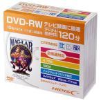 HI DISC 録画用DVD-RW 4.7GB 1-2倍速対応 CPRM対応 10枚入り HDDRW12NCP10SC [HDDRW12NCP10SC]