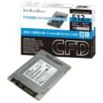CFD Toshiba製SSD 採用 MLCモデル(512GB) CSSD-S6T512NHG6Z [CSSDS6T512NHG6Z]
