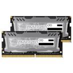 CFD Crucial ゲーミングモデル DDR4-2400 ノートPC用メモリ 260pin SO-DIMM(8GB×2枚組) W4N2400BMS-8G [W4N2400BMS8G]