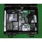 日立 14.4V-6.0Ahブラシレスインパクトドライバ WH14DDL2(2LYPK)L 緑 新品