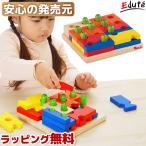 [ボイラの木のおもちゃ] ボイラパズル1 / 知育玩具 立体パズル 型はめ 誕生日 3歳 4歳 女の子 男の子 VOILA
