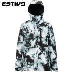 エスティボ バディ ジャケット  EVM1807 MC(モノクロ) スノーボード メンズ ESTIVO EV-BUDDY JKT