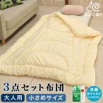 緊急対策 コロナウイルスで寝室を分ける準備に 大人用 小さめサイズの 布団セット 仮眠 お昼寝 隔離