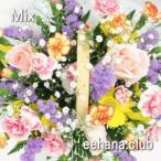 ★カラフルな季節の新鮮なお花を贈ります