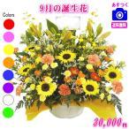 花 ギフト バースデー9月の誕生花 デザイナーにおまかせ20,000円 送料無料   フラワーアレンジ・花束
