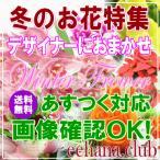 冬の贈り物 デザイナーにおまかせ7,000円 送料無料   アレンジ・花束・花鉢・プリザ