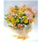 鮮やかなオレンジ系の花束です♪