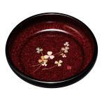 紀州漆器 7.0菓子鉢 石目クローバー