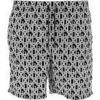 ドルチェ&ガッバーナ Dolce & Gabbana メンズ 海パン 水着・ビーチウェア Swimsuit With Logo Black