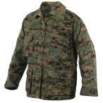 メンズ ビッグサイズ  迷彩 シャツ ジャケット bdu 迷彩服 ロスコ ROTHCO Battle Dress Uniforms