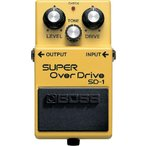 Boss SD-1 SUPER Overdrive|ボス|オーバードライブ|並行輸入品