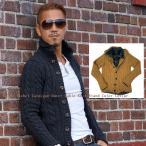 ウール80% ジャケット カーディガン アウター ケーブル編みスタンドカラーニット2color