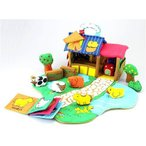 ●ふわふわファームハウス【エドインター】出産祝い 男の子 女の子 玩具 ギフト 布のおもちゃ 布 おもちゃ 布おもちゃ 赤ちゃん ベビー 幼